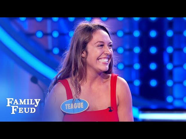 BOOM! The Schroeders win again! $40,000 baybee! | Family Feud