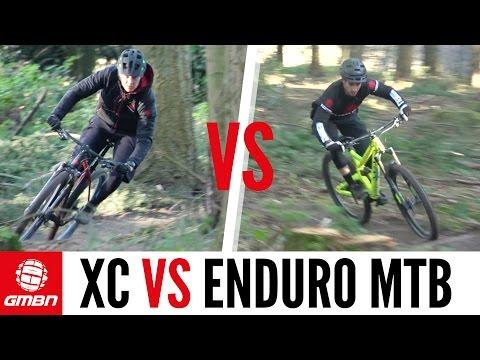 Cross Country VS Enduro Mountain Bike Race | The Ultimate MTB Battle