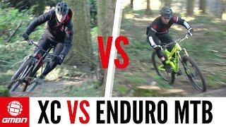 Cross Country VS Enduro Mountain Bike Race   The Ultimate MTB Battle