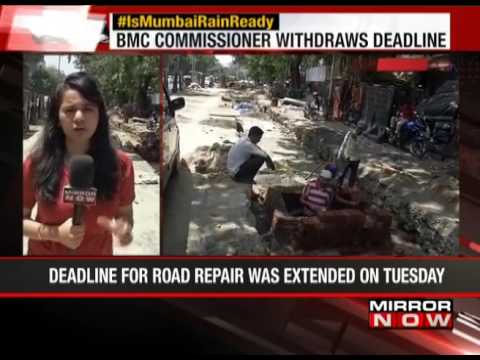 Work or leave: BMC Chief to contractors on road repair  - The News