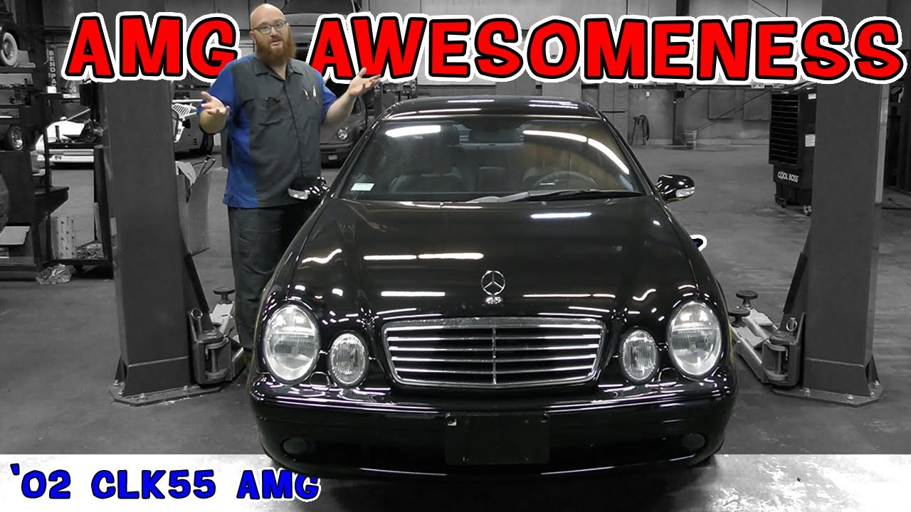 Cool car, Common problem. 2002 Mercedes AMG CLK55.The CAR WIZARD knew the problem before it arrived