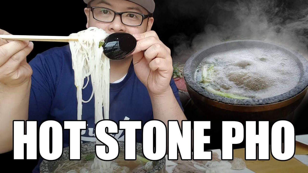 Hot Stone Pho!  HONG NGU CHICAGO-Vietnamese Beef Noodle Soup