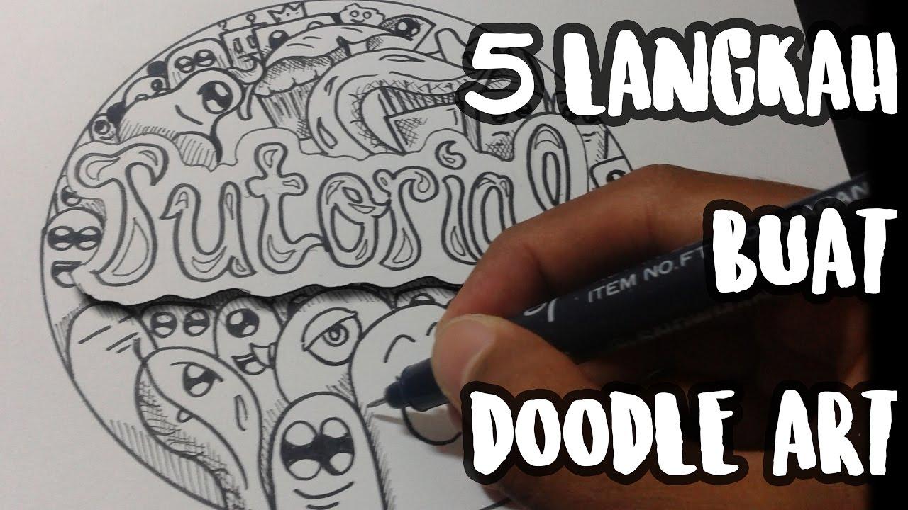 88 Gambar Doodle Art Yang Mudah Dan Keren