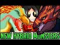 The Top 5 New Hybrid Monsters in Monster Hunter World! (Discussion/Theory/Fun) #monsterhunterworld
