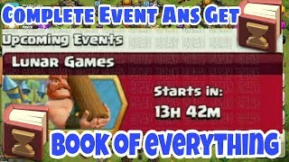 Book of Everything is Coming New EVENT in Clash of Clans