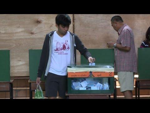Thailand votes on divisive junta constitution