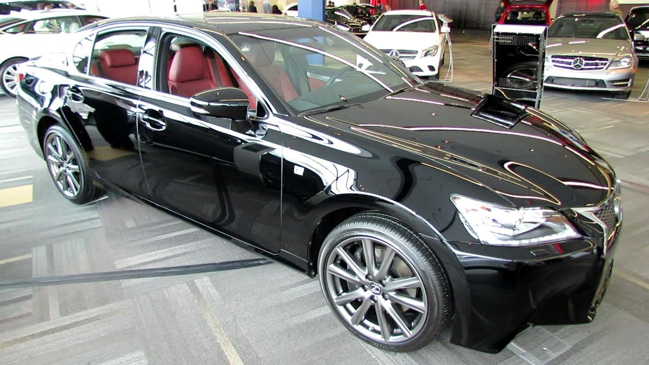 2014 Lexus Gs350 F Sport Awd Exterior And Interior