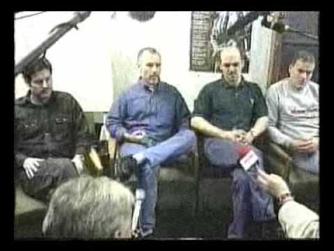 Mo Mowlam Maze Prison Visit: Media meet the Prisoners