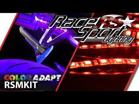 Race Sport Lighting ColorADAPT RSMKIT Motorcycle LED Accent Kit