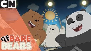 We Bare Bears | Pizza Band On Tour | Cartoon Network UK