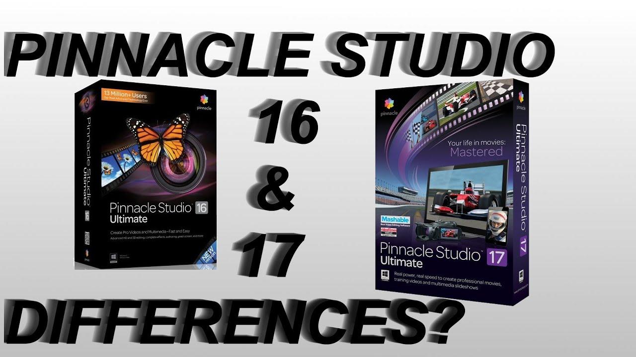 Pinnacle studio 16 ultimate buy fast