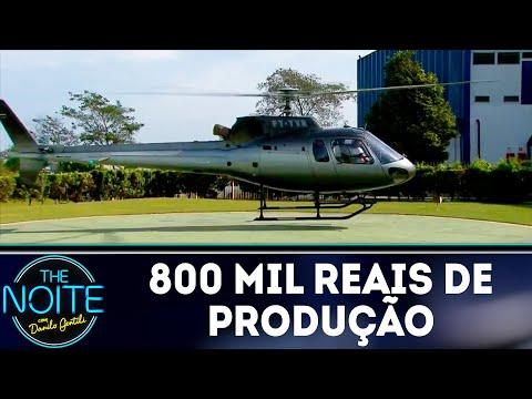 Curiosidades do The Noite: 800 mil reais para ter Eros Avalon no programa | The Noite (02/08/18)