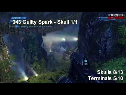 Halo CE : Anniversary - Skull and Terminal Guide - Easy to Follow...