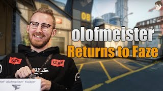 What olofmeister's Return Brings to Faze Clan