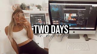 Chloe Ting Challenge (Training + Rezepte), lernen & Motivation finden   TWO DAYS IN MY LIFE