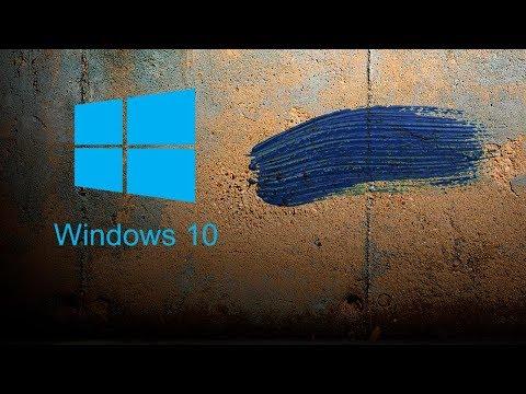 Установка Windows 10 с Photoshop на современный компьютер