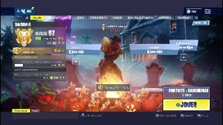 The new Halloween skin and its new transformable pickaxe !!! Fortnite royal battle