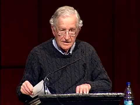 Noam Chomsky - US/ Israeli Crimes Against Palestine