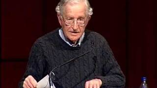 Noam Chomsky - US/ Israeli Crimes Against Palestine