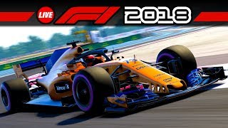 Online Multiplayer testen! – F1 2018 Livestream Deutsch | Let's Play Formel 1 Gameplay German