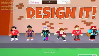 Roblox design it W/savagedgobucket