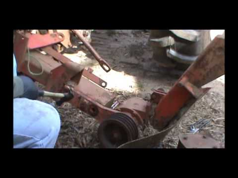 Kuhn Gmd 500 Mower Rebuild Part 1 Disassembly Youtube