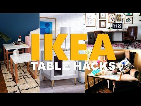27 Tempting IKEA TABLE Hack