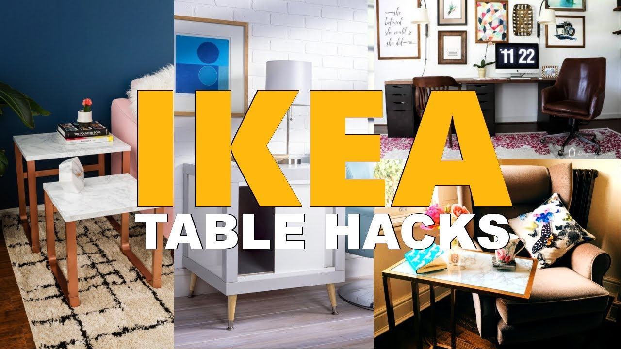 27 Tempting Ikea Table Hack