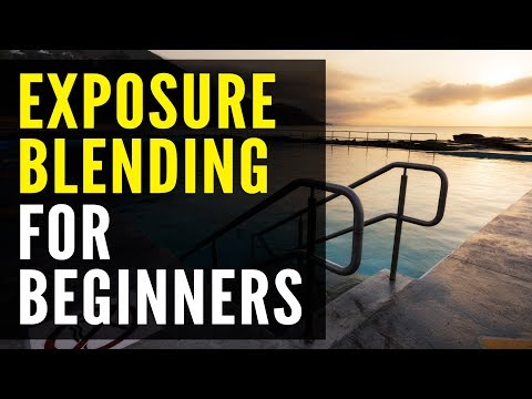 Exposure Blending Photoshop Tutorial: For BEGINNERS ONLY thumbnail