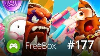 Skvělé hry zdarma: FreeBox #177 - Bubble Guriko, We Heroes, Crossy Space, Too Many Dangers