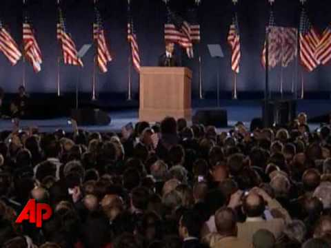 Obama Sweeps To Victory As First Black President