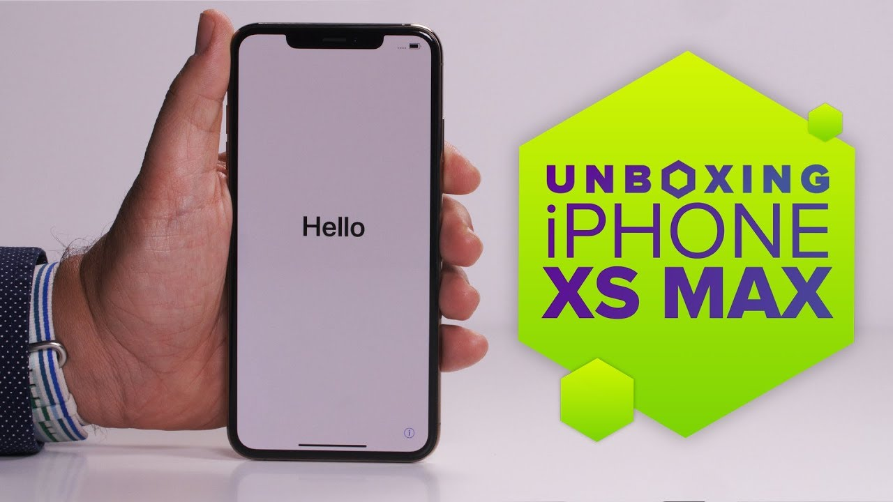 Iphone Xs Max Unboxed Youtube