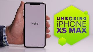 iPhone XS Max, unboxed