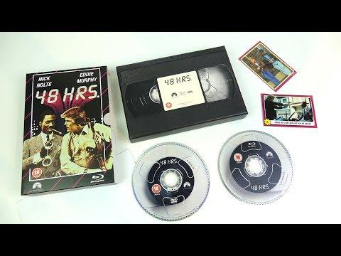 VHS Range : Retro Blu-ray packaging from HMV _ A QUICK-EXTRA-VID