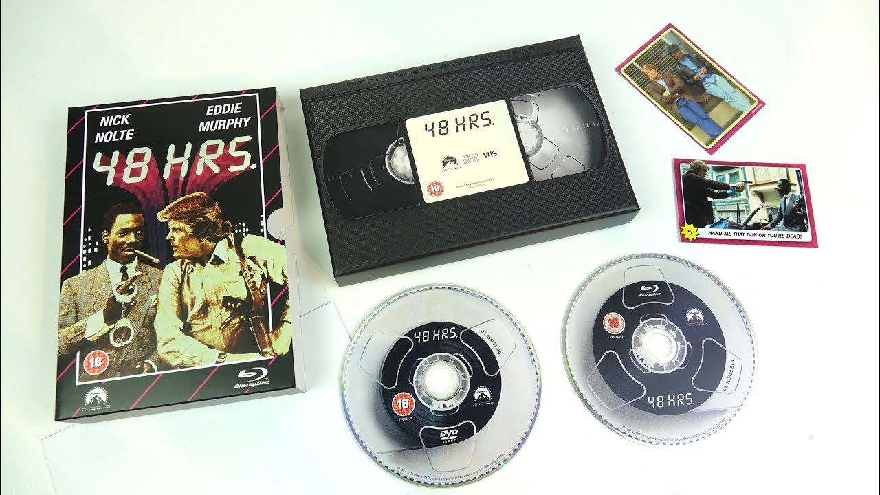 VHS Range : Retro Blu-ray packaging from HMV _ A QUICK-EXTRA-VID