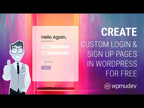 How To Create A Registration And Login Page In WordPress For Free