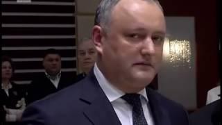 Igor Dodon a fost huiduit de moldovenii din Italia