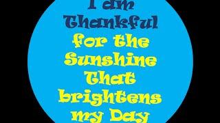 I am Thankful Affirmations