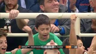 Παναθηναϊκός - Ρεάλ Μαδρίτης: 73-74 28/03/19