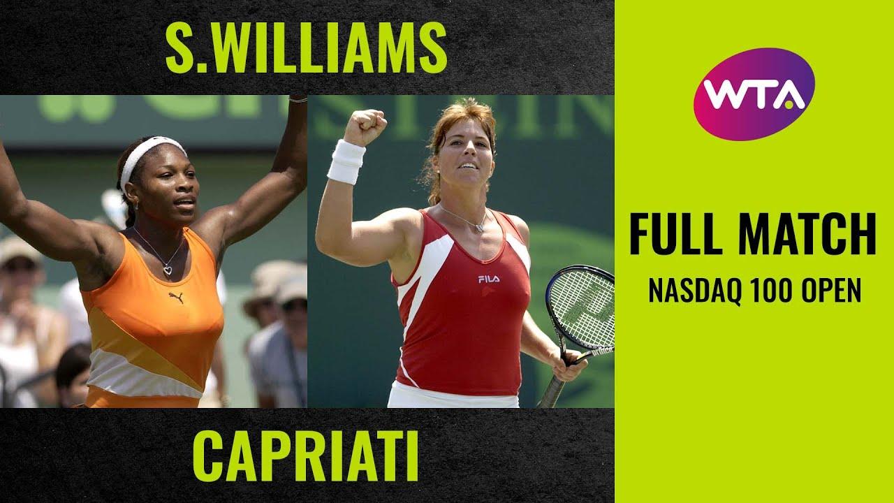 Serena Williams vs. Jennifer Capriati | Full Match | 2003 Nasdaq 100 Open Final