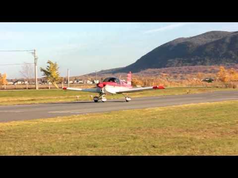 [HD] American Aviation (Grumman) AA-1A Takeoff CSB3