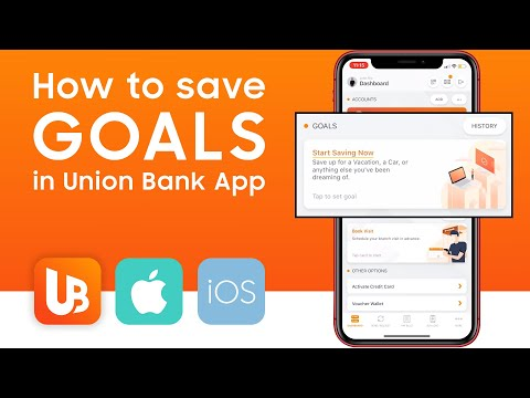 How To Save GOALS In Union Bank App