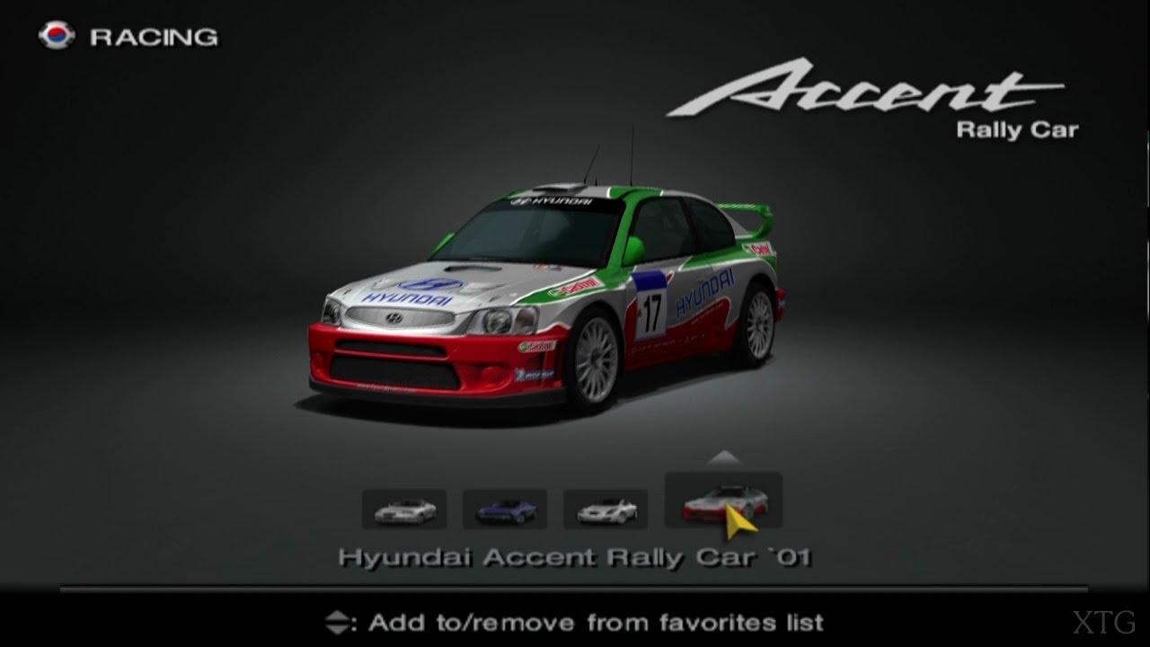 Hyundai Car List PS2 Gameplay HD
