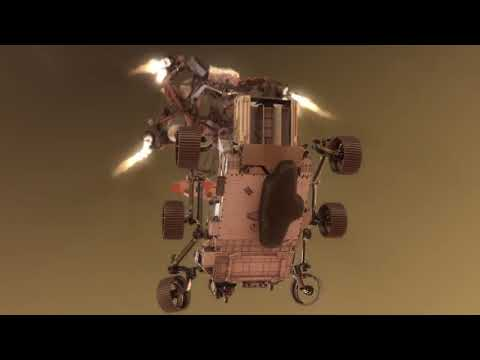 Perseverance lands on Mars! See the mission control highlights