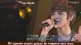 SHINee - Stand by me sub (romanizado + español) live