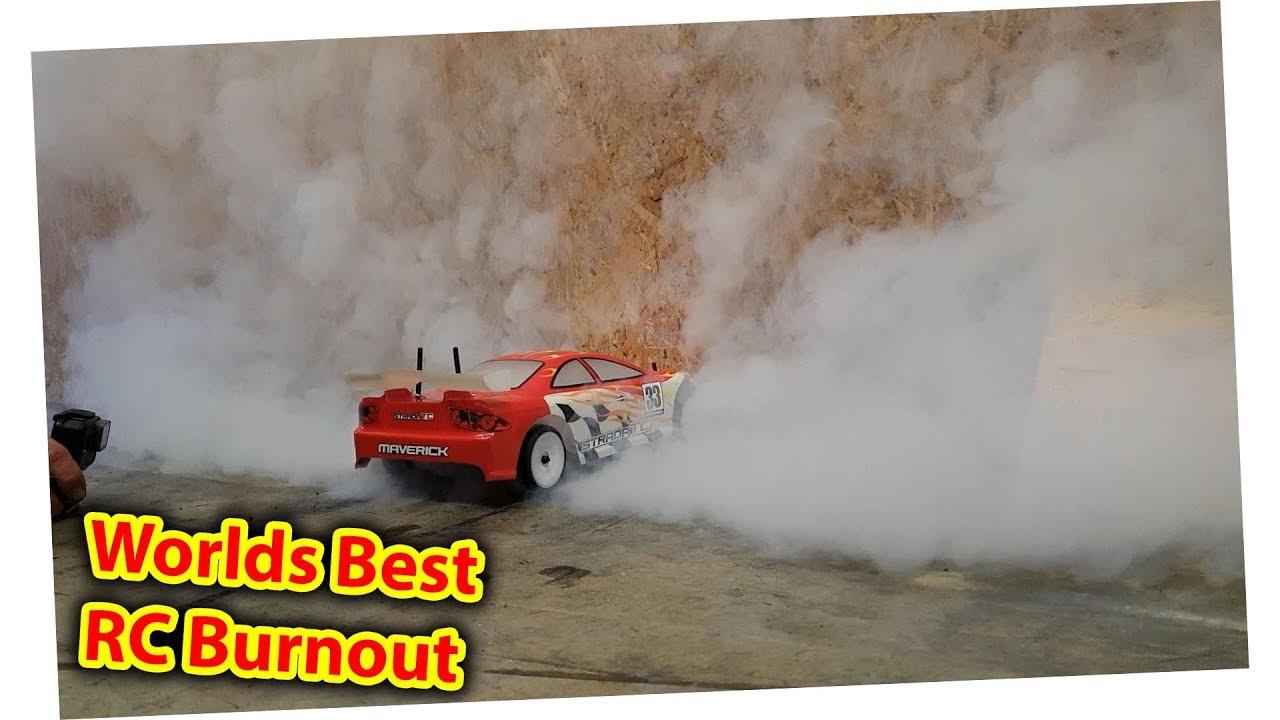 RC Car Burnout - Worlds best?