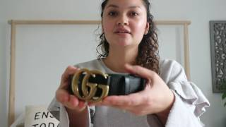 Gucci Marmont Belt Unboxing