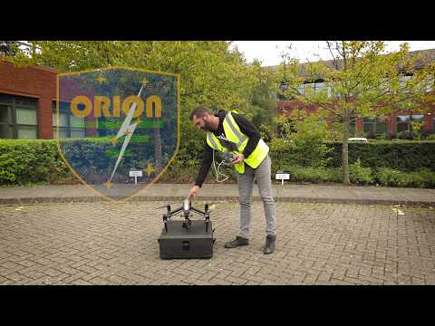 Drone Works with Orion Lightning Protection