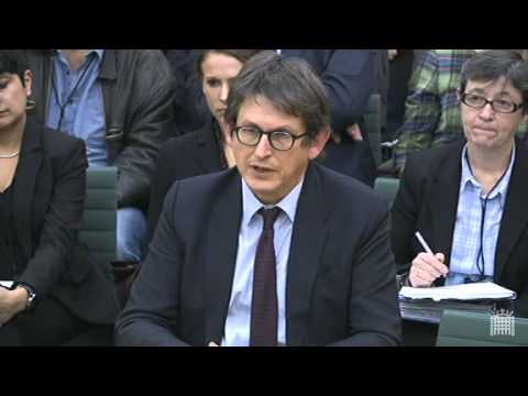 Alan Rusbridger appears before the home affairs select committee