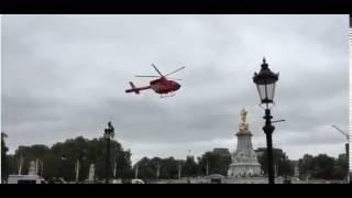 فيديو| طائرة إسعاف خارج قصر الملكة إليزابيث.. ماذا حدث؟